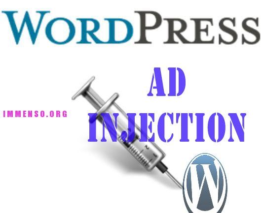 adsense wordpress plugin ad injection