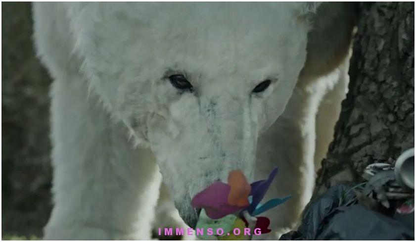 orso polare Londra greenpeace save the artic