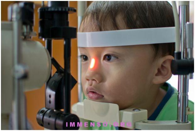 problemi della vista nei bambini