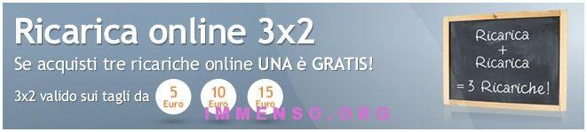 ricariche gratis wind 3x2