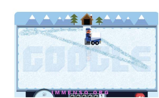 doodle ghiaccio zamboni
