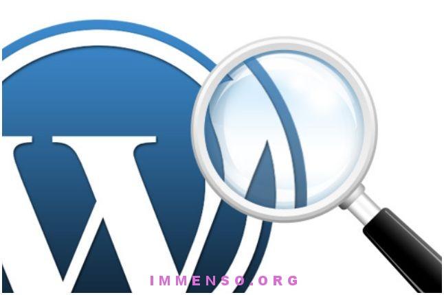 descrizione categorie wordpress
