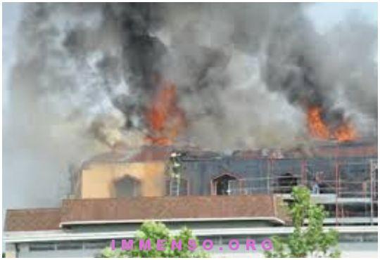 incendio bambini morti brescia