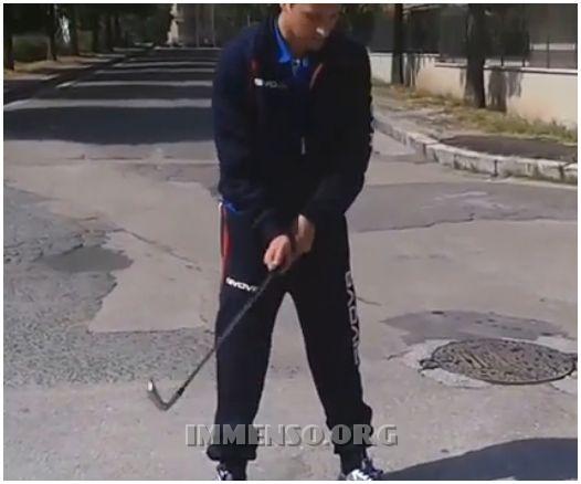 partita a golf a cassino