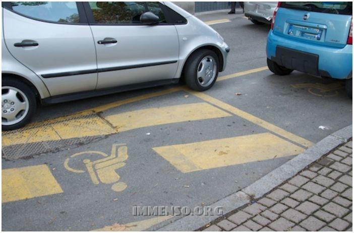 parcheggio disabili
