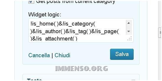 plugin widget wordpress