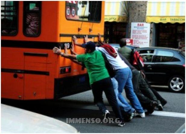 sprechi trasporto pubblico