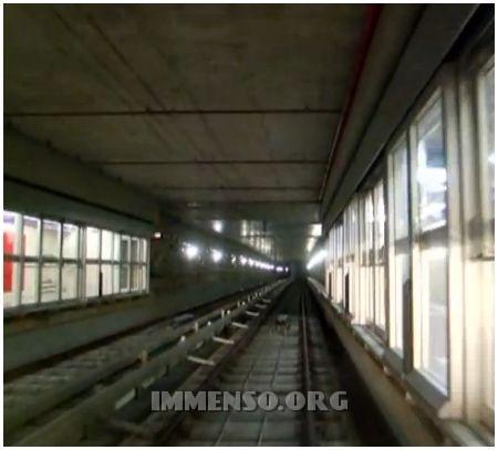 metropolitana binari foto