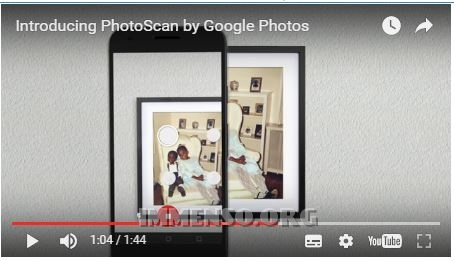 PhotoScan, l'app per rendere digitali le tue vecchie foto [Video Youtube]