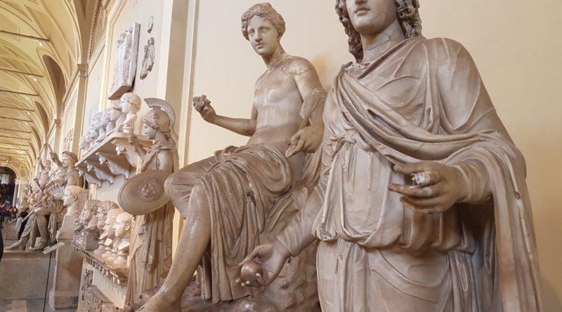 statue musei vaticani